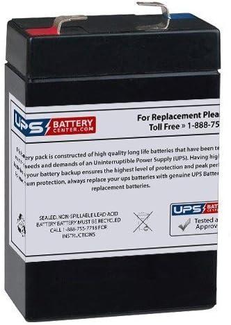 6CE2.8 6 Volt 2.8 Ah SLA Replacement Battery w// F1 Terminal