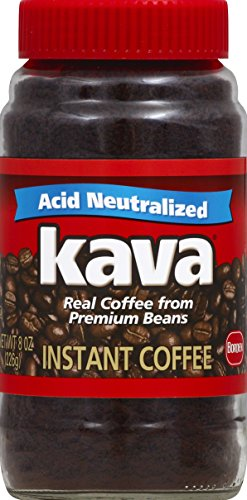 Kava Reduced Acid Instant Coffee, 8 - Instant Coffee Kava