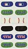 Amscan (Amsdd Baseball Dream Major League Face Tattoos Favour, 144 Pieces
