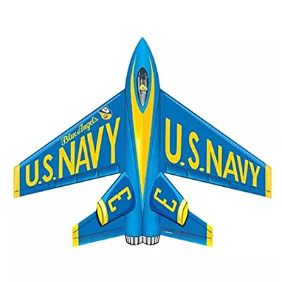 """37"""" Flying Aces Poly Airplane Kite (Blue Angels): Toys & Games"""