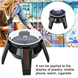 """Rotating Jewelry Display Stand, Adjustable Jewelry and Cosmetic Display Showcase for Watch Phone Jewelry Display"