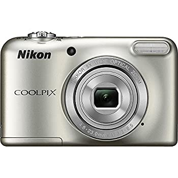 Nikon Coolpix L29 16.1 MP Point and Shoot Camera with 5x Optical Zoom (Silver) (Certified Refurbished)