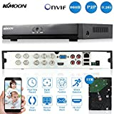Cheap KKmoon 8CH Channel Full 960H/D1 DVR HVR NVR HDMI P2P Cloud Network Onvif Digital Video Recorder + 1TB Hard Disk support Plug and Play Free CMS Browser View Motion Detection Email Alarm PTZ