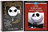 The Nightmare Before Christmas Blu Ray & Playing Card Set Tim Burton Collectors Edition Movie Fantasy Exclusive Combo Pack