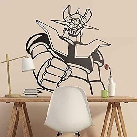 57x60cm wall sticker Mazinger Z. Classic Cartoon para los amantes ...