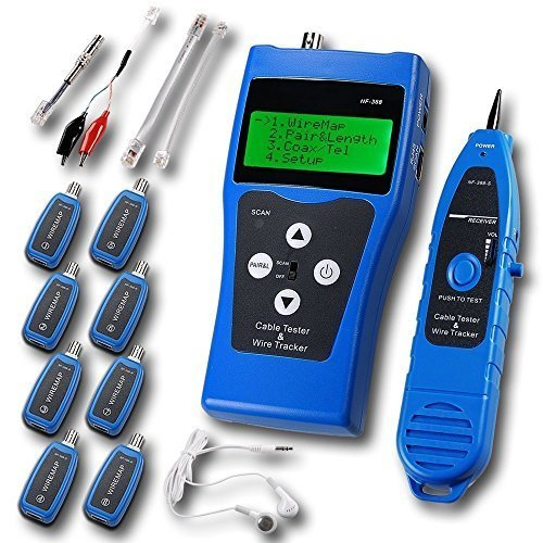 Noyafa NF-388-B Multipurpose Network Cable Tester Tracker Tracer Test Ethernet