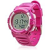 SMARTFLY KP001 Sport Multi-functional Stopwatch Waterproof Pedometer Watch