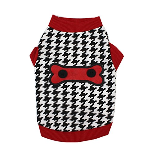 Alalaso-Pet clothing ,Dog Apparel Cotton Vest Puppy Costume For Small Dog (M) -
