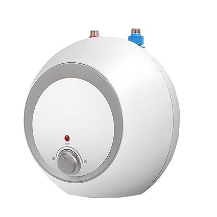 Water heater Roscloud@ Cocina Pequeña Calentador de Agua Eléctrico 6.6 litros Calentador de Agua Instantáneo
