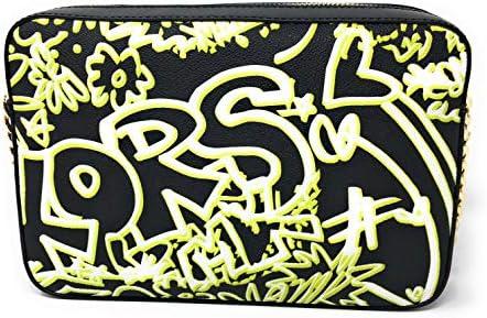 Neon Yellow X Black Graffiti Logo
