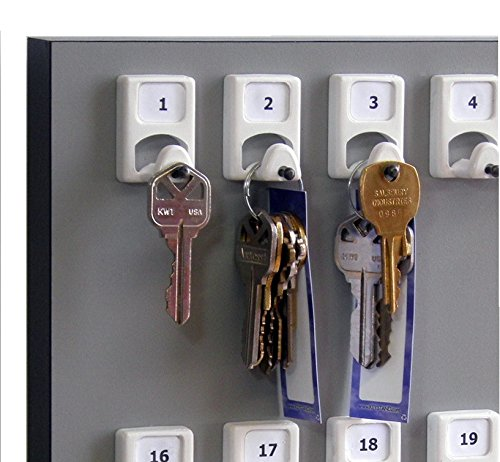 KEYSTAND # 60PGS with 60 Numbered Hooks for Auto Dealers/Realtors (60 Tag & Ring Included)