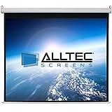 """Alltec Screens ATS-M99S Manual Square Format Projector Screen 99"""" Diag."""