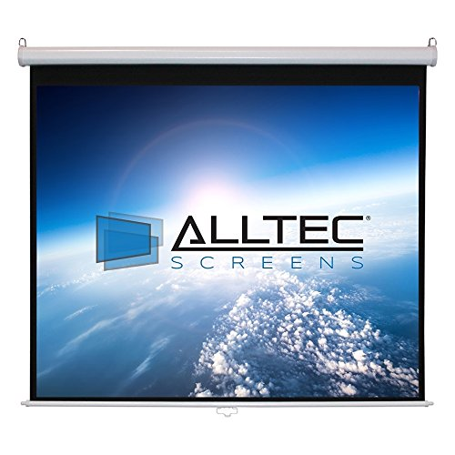 - Alltec Screens ATS-M85S Manual Square Format Projector Screen 85