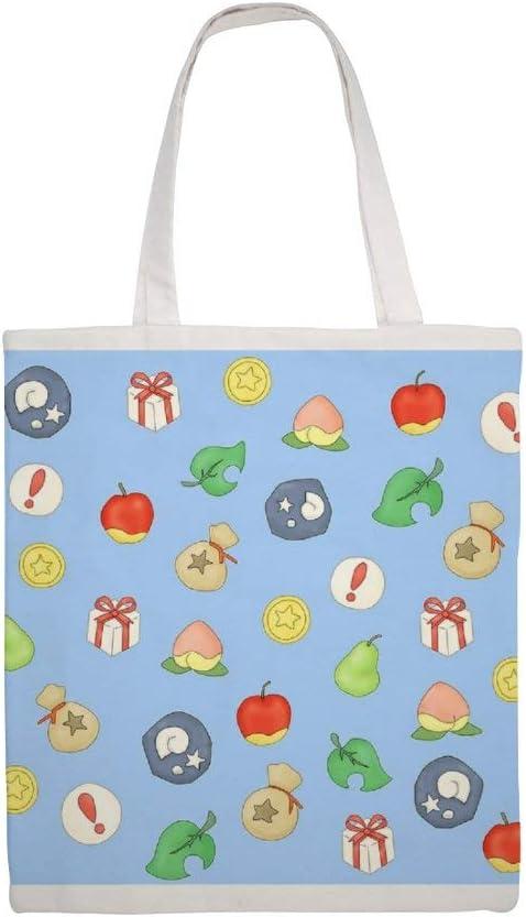 Tela Di Cotone Tote Bag Animal Crossing Logo Modello Spalla
