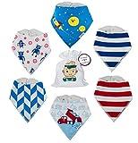 Baby Shower Gift Idea: Baby Bandana Bibs For Boys Best Baby Boy Gift Set,