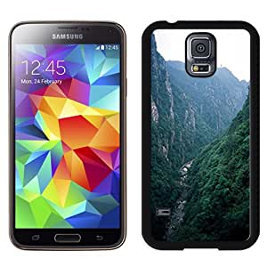 Fashionable Designed Cover Case For Samsung Galaxy S5 I9600 G900a G900v G900p G900t G900w With Mountain Creek Nature Mobile Wallpaper 1 Phone Case