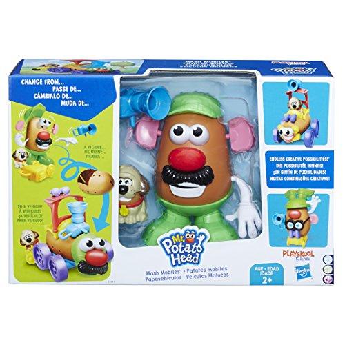 Brinquedo Pré Escolar Mr Potato Head Veiculos Malucos - Hasbro