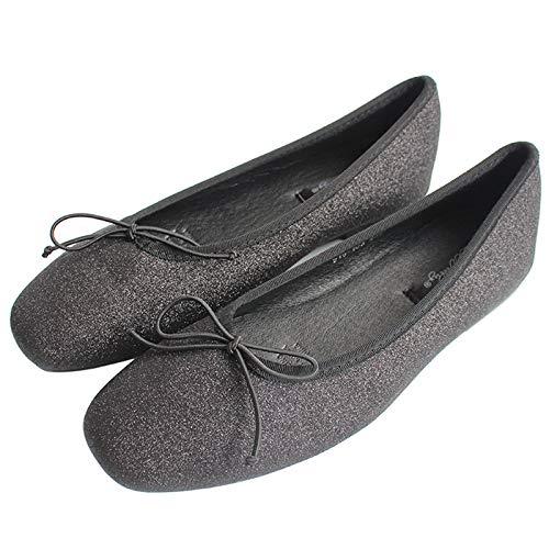 Zapatos Las la satén de Embarazadas de de la Mujeres Los Parte Suave Inferior Terciopelo Boca Trabajo Planos Ballet del de de Ocasionales Zapatos Baja cómodos Calzan C Zapatos FLYRCX de los Zapatos y qzwSfSZ