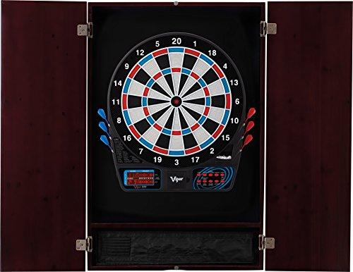 Mahogany Blade Set (Viper Metropolitan Electronic Soft Tip Dartboard & Cabinet Bundle: Standard Set (777 Dartboard), Mahogany Finish)