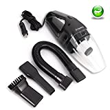 Car Vacuum Cleaner, 12V 120W Wet Dry Portable Handheld Auto Vacuum Cleaner ...
