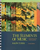 The Elements of Music Vol. 2 : Concepts and Applications, Turek, Ralph and Schindler, Allan W., 0070654751