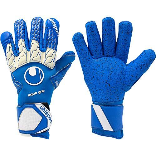 - uhlsport AQUAGRIP Finger Surround Goalkeeper Gloves Size 8