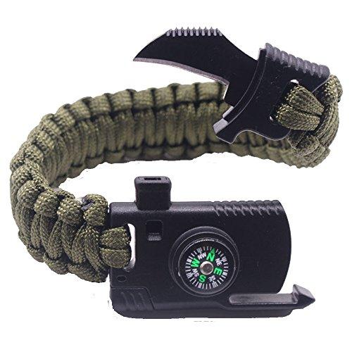 Outdoor Sports Wristband Bracelet (Army (Army Band Bracelet)