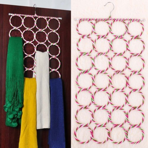 Generic Count Circles Scarf Holder