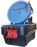 Desert Fox Automatic Gold Panning Machine - Variable Speed - Blue Spiral Wheel - Desert Gold Mining Equipment