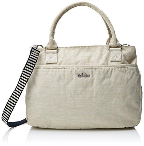 Kipling Caralisa, sac avec poignée femme, 34x25x11 cm Blanc (dazz Cream C)