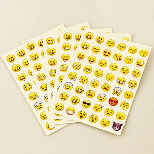 Classic Toys Stickers - Pcs Sticker 48 Classic Emoji Smile face Stickers for Notebook Albums Message Twitter Large Viny Instagram Classical Toys 1 PCs from Classic Toys