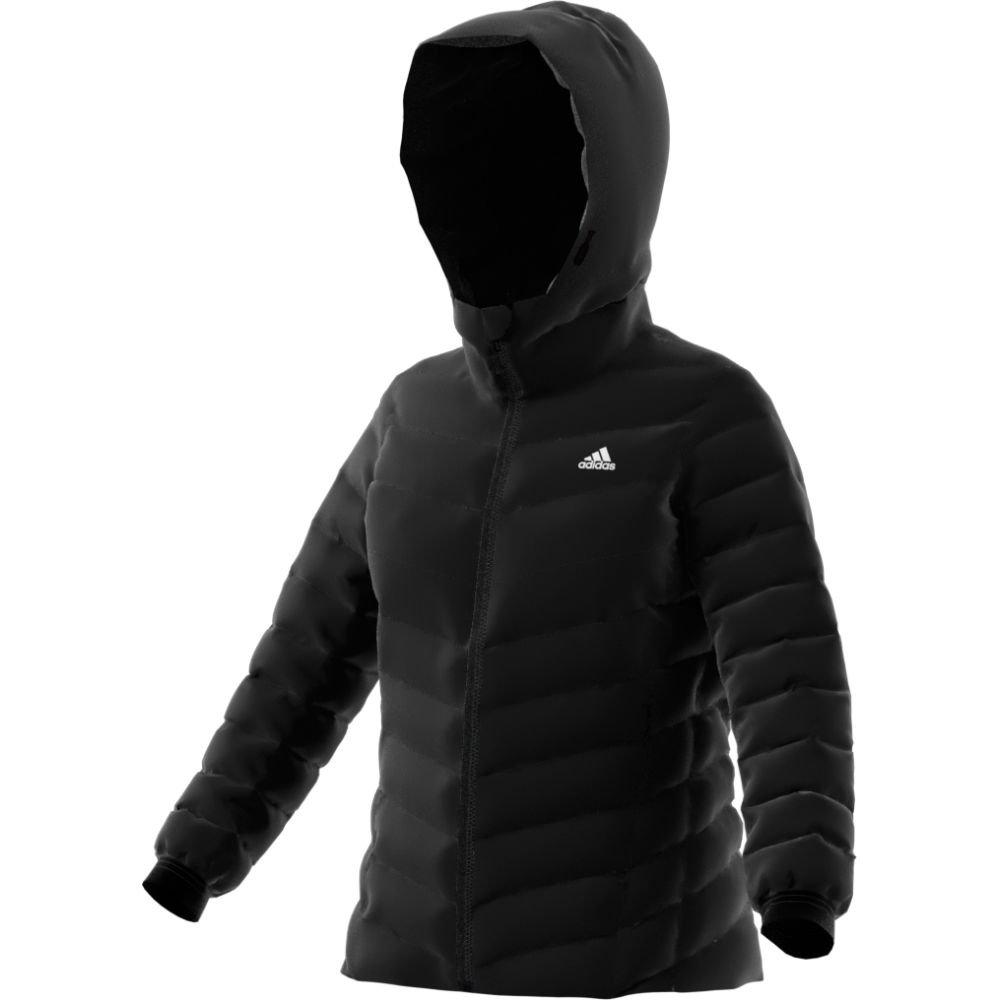 adidas outdoor Womens Climawarm Soft Down Jacket (M - Black/Black)