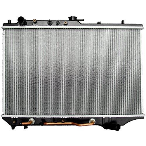 ECCPP New Aluminum Radiator 1135 fits for 1991-1995 Mazda 323 Base 1990-1994 Mazda Protege LX 1 In ()