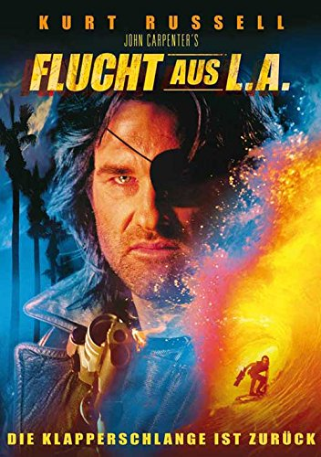 Escape From L.A. German Poster