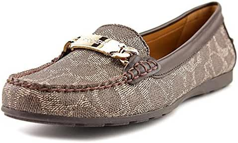 Coach Womens Olive Loafer Flat