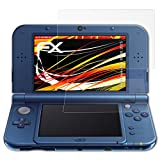 atFoliX Protector Film compatible with Nintendo New 3DS XL 2015 Screen Protection Film, HD antireflection coating FX Screen Protection (Set of 3)