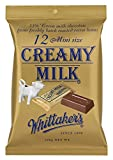 Whittaker's 12 mini size chocolate slab 180g (Made in New Zealand) (Creamy Milk)