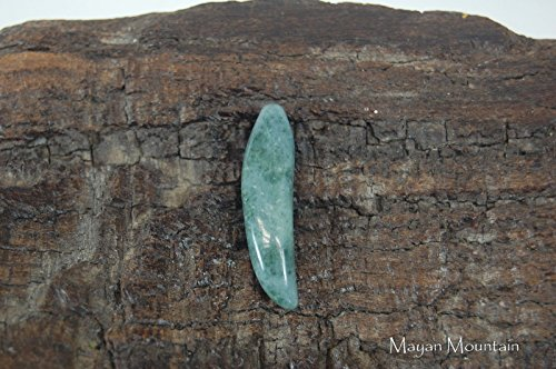 - Mayan Mountain POWERFUL JAGUAR TOOTH CLAW IN MOTTLED GREEN GUATEMALAN JADE CARVING PENDANT T-8