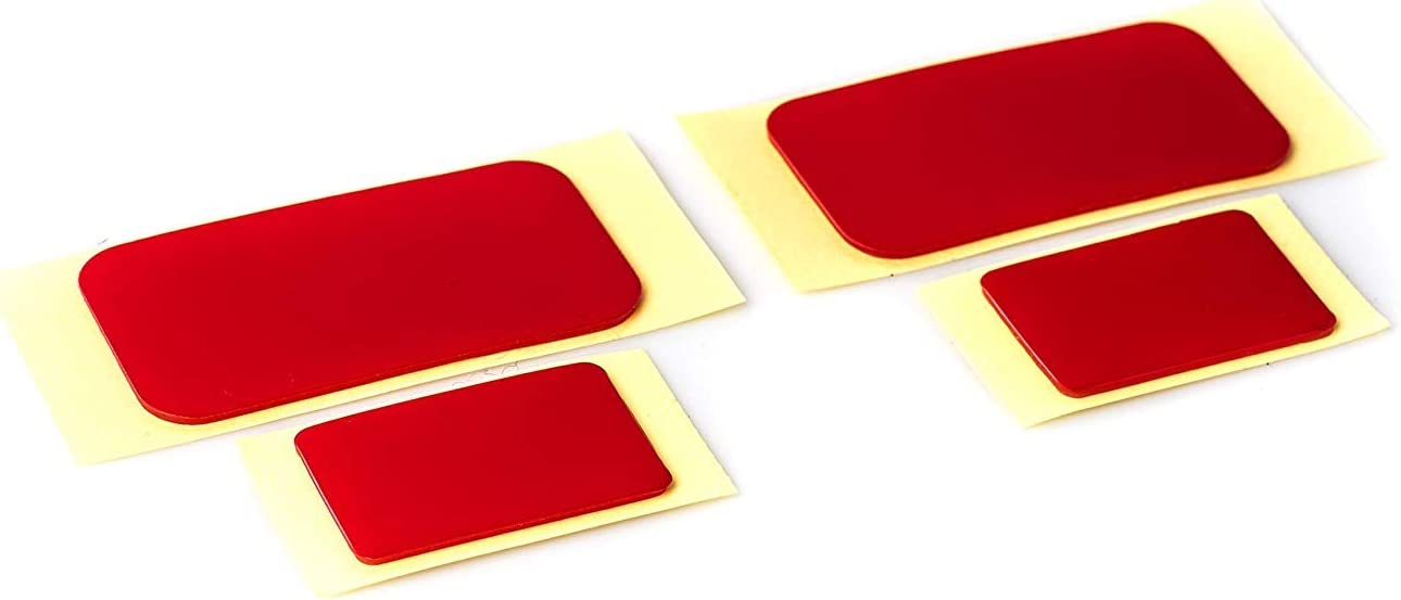 Self-Adhesive windscreen Mount Tapes Compatible with Most of The Blackvue Dashcams Set of 2 x Front /& 2 x Rear Tapes
