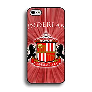 Classical Creative Sunderland AFC Logo Cell Phone Case for Iphone 6 Plus/6s Plus 5.5 Inch Premier League Sunderland Football Club Pattern Premium Phone Cover