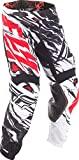 Fly Racing Unisex-Adult Kinetic Mesh Pants Black/White/Red Size 38