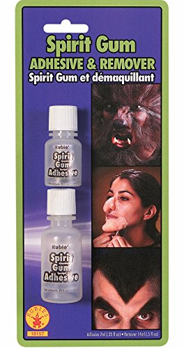 Rubie's Costume Spirit Gum and Remover, Transparent, One Size