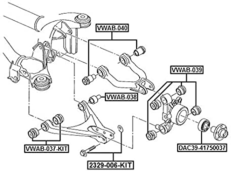 Amazon Com Cam Repair Kit Febest 2329 006 Kit Oem Wht001661 Automotive