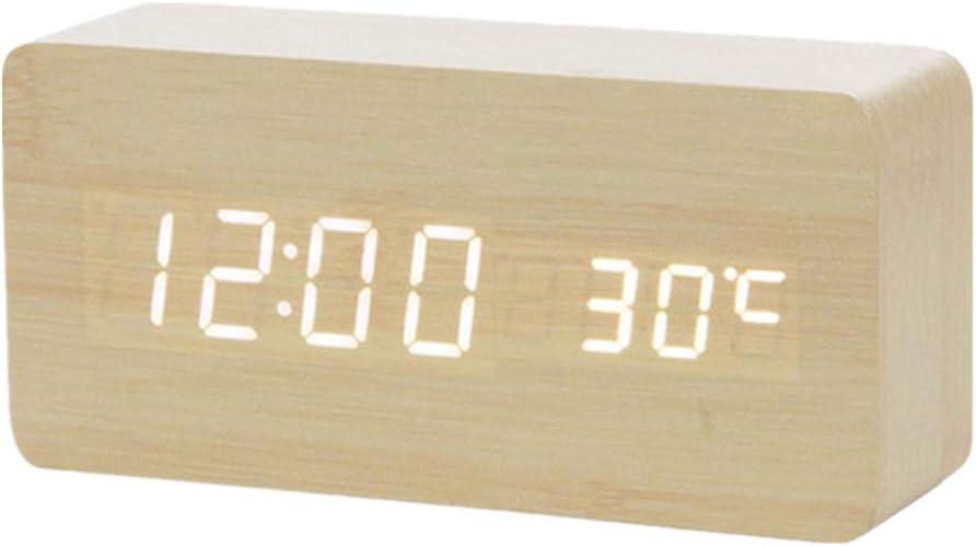 OVsler Despertadores Digitales Despertadores Digitales Despertadores Digitales Radio Despertador Despertador Proyector Despertadores Digitales Despertador Digital Radio Reloj Despertador White 1