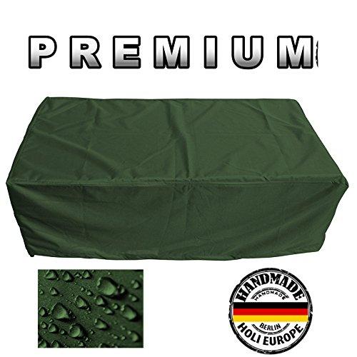 PREMIUM Schutzhülle Gartenmöbel Abdeckung / Gartentisch Abdeckplane B 175cm x T 280cm x H 95cm Olivgrün