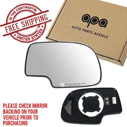 CHEVROLET TAHOE  Pass Side RIGHT Power Mirror HEATED 00 01 02 03 04 2005 2006