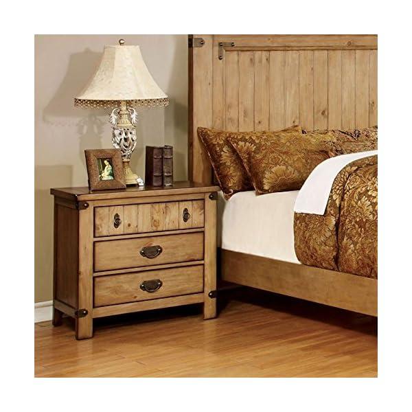 247SHOPATHOME Bedroom set, King, Weathered