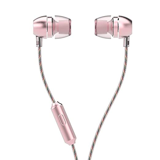 LIVEHITOP UiiSii HM7 metal del auricular, micrófono HD Auriculares ...