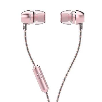 LIVEHITOP UiiSii HM7 metal del auricular, micrófono HD Auriculares estéreo con micrófono Bass en la