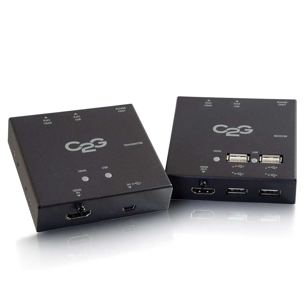 C2G 29637 Short Range HDMI+USB Over Cat5 Extender, TAA Compliant by C2G